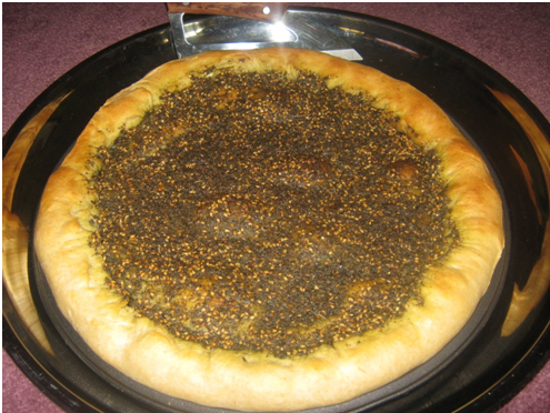 Olive Oil and Zatar