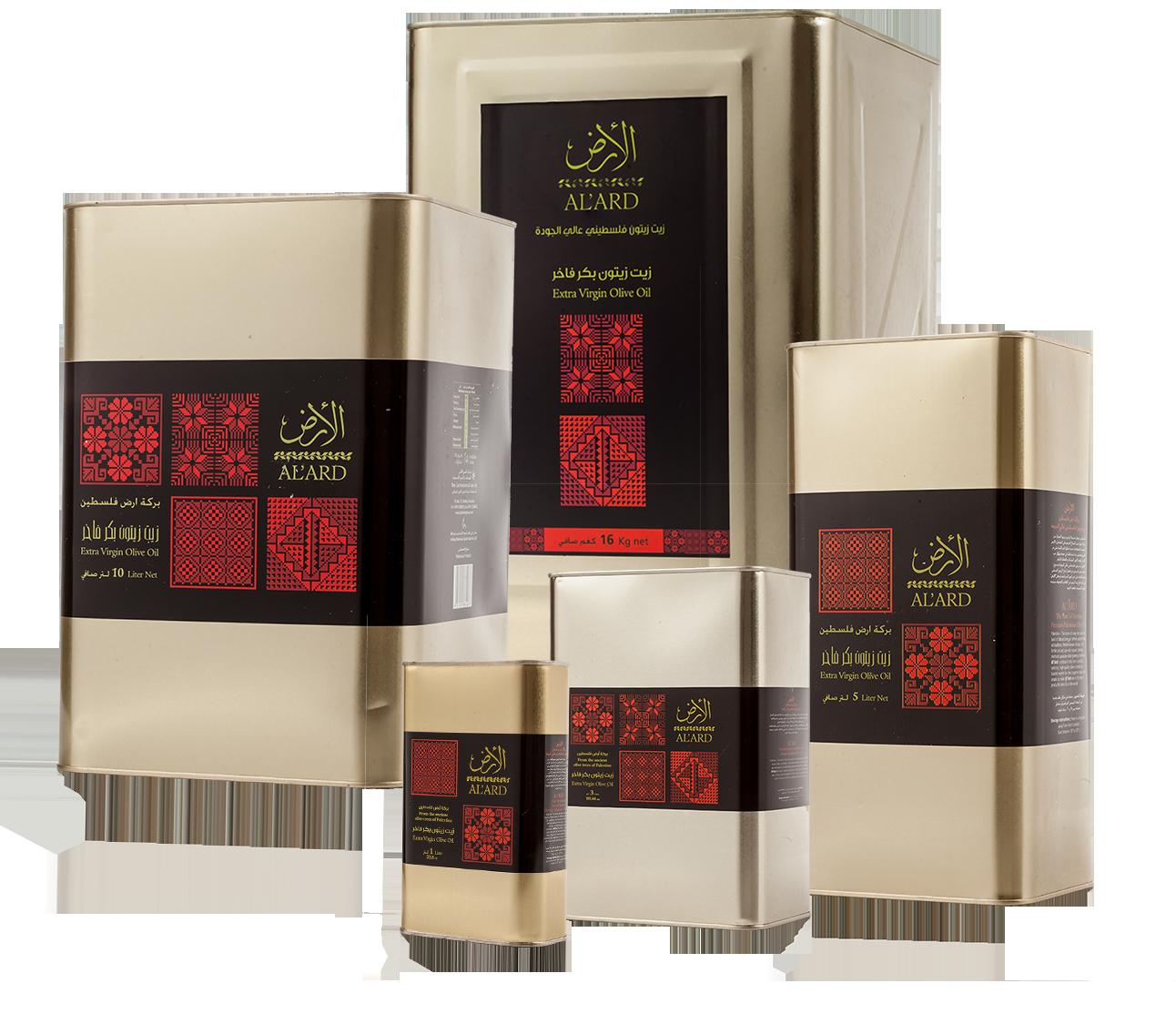 Al'Ard  Extra Virgin Olive Oil Tin